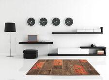 Wohnraum-Teppiche mit Patchwork im Vintage -/Retro-Stil