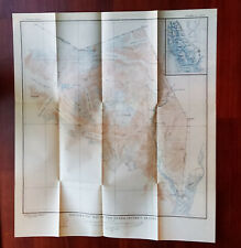 1928 Topographical Map of Hyder District Alaska Portland Canal Glaciers