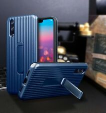 Huawei  P20 PRO   Rugged  Bumper Cover   Case With Stand Blue   ISPORT™