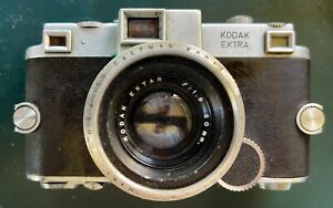 Kodak Ektra Rangefinder Camera W/ 50mm 1.9 Lens