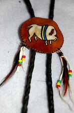 Bolotie Zuni Style Western Cowboy Country Hals Schmuck Bolotie i.Nr.045