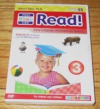 Your Baby Can Read! Volume 3 (DVD, 2009)Robert Titzer, Ph.D Infants Children NEW
