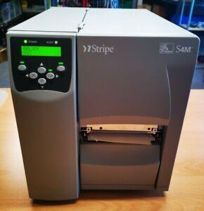 Zebra S4M NEU OVP S4M00-200E-0100D Labeldrucker Versandettiketten