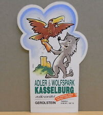 1x Sticker - decal Kasselburg Gerolstein Germany with org.back 80's (03181)