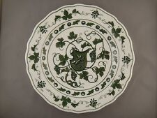 Meissen Germany Hand Painted Unusual Vine Leaf Plate 19th Century