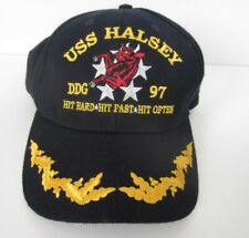 USS Halsey DDG 97 Navy Cap  Hat The Corps /  Free USPS Shipping