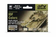 Vallejo 71.210 AFV Color Series IDF Colors 6x17ml