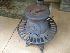 Pot Belly Heater/Stove - Antique Wood Fired Cast Iron