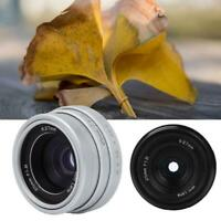 MF 25mm F1.8 Aperture CCTV C Mount Wide Angle Lens for Nikon Canon DSLR Cameras