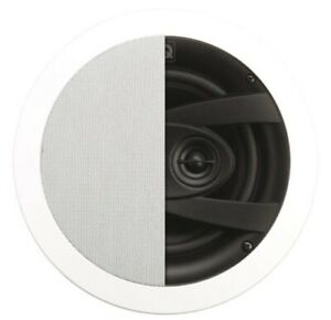 """Q Install QI 65CW St IPX4 Weatherproof Stereo In Ceiling Speaker 165mm (6.5"""")"""