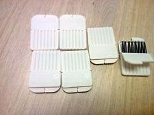 5 Widex Waxguards(+ 1 card batteries free)