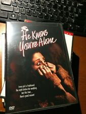 He Knows You're Alone 1980  (DVD, 2004) RARE HORROR TOM HANKS  NEW