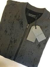 AllSaints Men's Zip Cotton Regular Jumpers & Cardigans