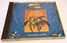 RARE - 1995 THE ADVENTURES OF BATMAN AND ROBIN CD ROM MOVIEBOOK COMPUTER GAME
