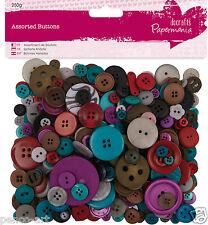 Papermania capsule collection 250 gramme pare-chocs sac assortis bleu boutons blues