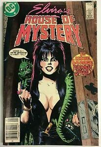 ELVIRA'S HOUSE OF MYSTERY#1 VG 1986 DC COMICS
