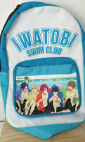 vtg IWATOBI SWIM CLUB BACKPACK ANIME Animation Japanese Free! Kyoto watobi Ohji