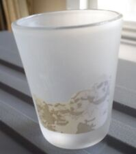 MOUNT RUSHMORE SHOT GLASS VINTAGE GREAT SHAPE VIEW WINDOW