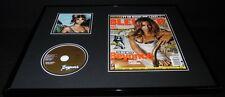 Beyonce 16x20 Framed Original 2006 Blender Magazine Cover & Cd Display