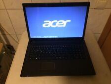 Laptop Acer Aspire 7250, Guter Zustand, 17 Zoll, 4GB RAM, 500GB HD, Lizenz Win 7