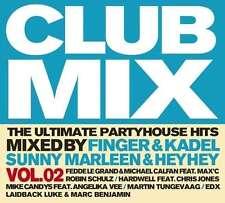 CD Club MixThe Ultimate Partyhouse Hots Vol. 2 CD Box 3 CD's (K122)
