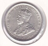 CB1451) Australia 1925 Shilling uncirculated, with superb original lustre