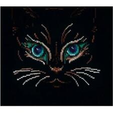 Andriana Counted Cross Stitch Kit - Glance of the Black Cat - B27