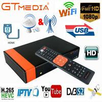 GTMedia V8 NOVA DVB-S2 H.265 Satellite Receiver WiFi Receptor 1080P FHD TV Box