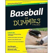 Very Good, Baseball FD 4E (For Dummies), Morgan, Joe, Book