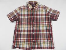 Mens J. Crew Button Up Plaid Dad Shirt Nice Dress Dinner Size Large