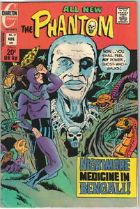 The Phantom Comic Book #57 Charlton Comics 1973 VERY FINE