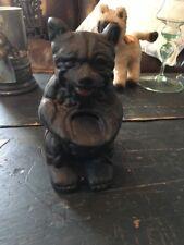 New listing Vintage Cast Iron Bear Honey Pot Bank