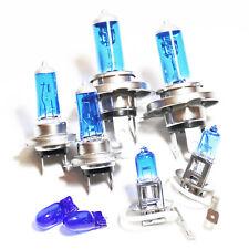 VW Bora 1J2 H7 H4 H3 501 55w Super White Xenon High/Low/Fog/Side Headlight Bulbs