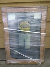 BRAND NEW: Nice PELLA Wood w/ White Aluminum Cladding Home CASEMENT WINDOW 29x41