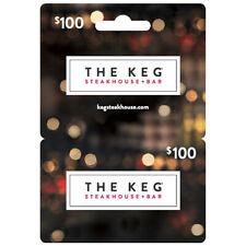 $100 CAD The Keg Gift Card