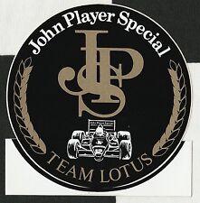 JOHN PLAYER SPECIAL JPS F1 TEAM LOTUS 98T 1986 SENNA ORIGINAL STICKER AUFKLEBER