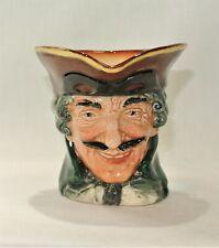 """Royal Doulton Dick Turpin Character Jug Toby Mug Vintage """"A"""" Mark England"""