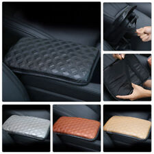 11.8''×8.3'' Car PU Leather Center Armrest Cover Console Box Pad Universal Black