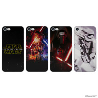 Star Wars Case/Cover For Apple iPhone 5/5s/SE / Screen Protector / Silicone Gel