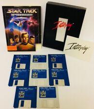 "Star Trek 25th Anniversary PC Big Box 3.5"" Game Interplay Space Flight Adventure"