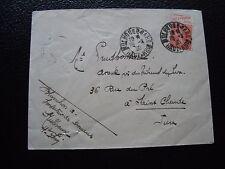 FRANCE - enveloppe 28/2/1930 (timbre avec publicite) (cy96) french
