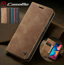 For Samsung S10 A10 A40 A70 S20 S9 Leather Flip Wallet Case Card Stand Cover