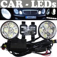 LED Tagfahrleuchten rund Tagfahrleuchten BMW X3 E83 X5 E53 E70 E71 Z3 Z4 E85 E89