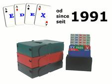 Bridge Bidding boxes Bid Buddy 1 komplet/set/satz 4 x box 3 kolory/colors/farbe