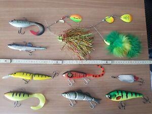 Artificiali Pesca Luccio Rapala Fox Storm Savage Jerkbait Swimbait Pike Lures