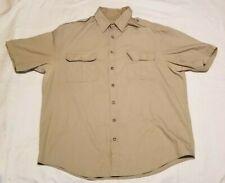 "Tilley Endurables ""GIVE 'EM HELL Mens Short Sleeve Shirt Sz XXL 2XL"