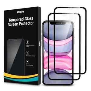 ESR 2pcs Tempered Glass For iPhone 11 12 13 Pro Max mini Screen Protector