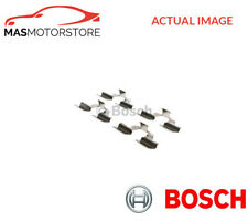 BRAKE PADS FITTING KIT SHIMS REAR BOSCH 1 987 474 253 P NEW OE REPLACEMENT