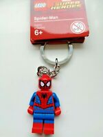 GENUINE LEGO MARVEL SUPERHEROES SPIDERMAN KEYRING KEYCHAIN