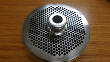 """Hubert #56 3/16"""" Chrome Plated Stainless Steel Grinder Plates"""